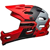 BELL Super 3R MIPS MTB 自行车头盔红色/灰色 2019
