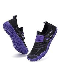 Fantiny 男孩和女孩水鞋轻便舒适鞋底轻松步行运动鞋水上袜(幼儿/小童/大童)