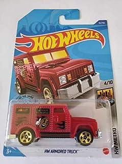 Hot Wheels 2020 Hw Metro Hw 装甲卡车,红色 31/250