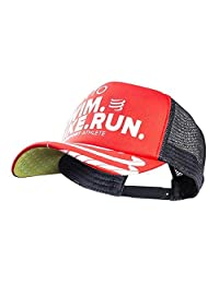 Compressport 男士 遮阳棒球帽 游骑跑限量版 CS-CAP01