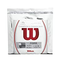 Wilson 冠军 Choice DUO 球拍,自然色