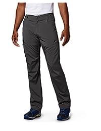 Columbia Men's Silver Ridge Stretch Pants, Grill, 38 x 32