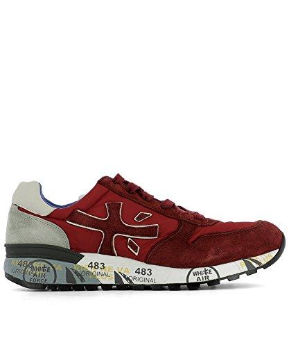 PREMIATA PREMIATA 男人 MICK2191 红色 山羊皮 运动鞋 / 意大利直邮【亚马逊海外卖家】