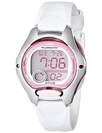 Casio 卡西欧女士 LW200-7AV 白色树脂表带数字手表