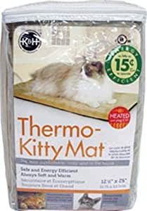 K&H Manufacturing Thermo-Kitty 混色垫子 12.5 by 25""