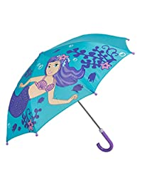 Idena 儿童雨伞,直径 70 厘米,美人鱼图案蓝*