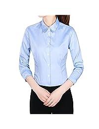 夏季衬衫女短袖打底修身免烫工作服修身职业工装衬衣商务显瘦正装寸衣581200006/581200014/J18WS018/371210074