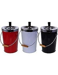 Dorex 杜蕾斯 2018 便携式烟灰缸 25 厘米 多色(Blanco/Negro/Rojo)