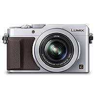Panasonic 松下 DMC-LX100EBS 数码相机(4/3英寸 MOS传感器,f1.7-2.8 LEICA DC VARIO-SUMMILUX镜头,24-75毫米) - 银色