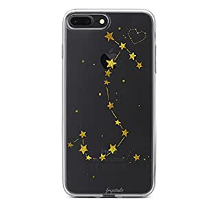 iPhone 7Plus / 8PLUS 橡胶软 TPU 硅胶防护手机壳软保护套有趣 Sassy 语录可爱 IPHONE 7Plus / 8PLUS case-sassy Since 出生 iphone 7Plus / 8PLUS 透明橡胶保护套 Scorpio-iPhone 7 Plus/8 Plus
