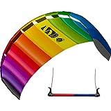 HQ Symphony Beach III 1.8 Sport Kite 中性款床垫 – 彩虹色 180 x 60 厘米