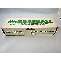 1988 Fleer 棒球卡工厂密封套装(绿色工厂包装盒版本) - Tom Glavine Rookie 卡 - RC!