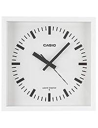 CASIO(カシオ) 掛け時計 ホワイト 25.5×5.4㎝ 電波時計 IQ-810J-7JF