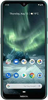 Nokia 7.2 Smartphone - Deutsche Ware (16cm (6,3 Zoll), 128GB Interner Speicher, 6GB RAM, Dual-SIM, LTE) Cyan G