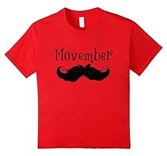 Movember Shirts - Kids 12 - Red