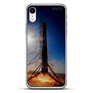 Luxendary 玻璃背板LUX-IRGL-SPACEX1 ALL THINGS ELON: SAPCEX FALCON 9 ROCKET LANDING IN THE OCEAN 透明