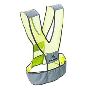 FuelBelt 反光霓虹*背心提高跑步者能见度
