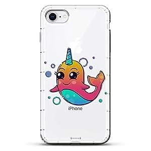 Luxendary Designer,3D 印花,时尚,高端,气袋垫LUX-I8AIR-UNICORN11 FANTASY: Cute Unicorn Dolphin 透明