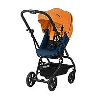 CYBEX Gold 嬰兒車 Eezy S Twist+,360°旋轉座椅,超小巧,重量輕,出生至17公斤(約 4 歲) 熱帶藍