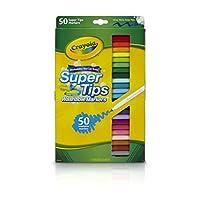 Crayola 绘儿乐 50色可水洗细杆水笔 58-5050
