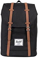 Herschel Supply Co. Retreat 中性 双肩背包 10066-00001 黑色/褐色 14 * 41.9 * 30.5 cm