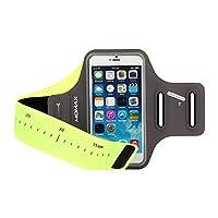 MOMAX 摩米士 手机臂包 运动臂带 手机跑步包 户外运动包 内置独立钥匙口袋 耳机孔 支持触控操作 高弹力莱卡面料 轻便防水防汗,手机户外配件,4.7-5.5英寸手机通用 绿色