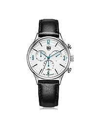 DUFA 德国品牌 密斯计时系列 石英男士手表 DF-9002-03(亚马逊自营商品, 由供应商配送)