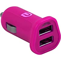 Uber 13117 DC USB Adapter, 2-2.4 Amplifier, Pink