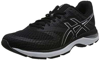 ASICS 亚瑟士 男 跑步鞋 GEL-PULSE 10 1011A007-002 黑色/银色 42.5