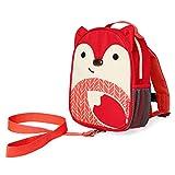 Skip Hop Skip Hop 幼儿皮带,带背包,狐狸,红色,橙色,白色