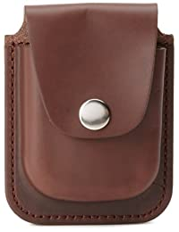 Charles-Hubert,Paris 3572-5 棕色皮革 56mm 口袋手表