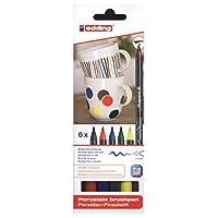 Edding 瓷器彩绘笔,多色组合 sortiertes Set Standardfarben