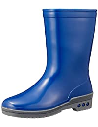 [ASAHI] 雨靴 青少年 R305 藏青色 22.0 cm 2E