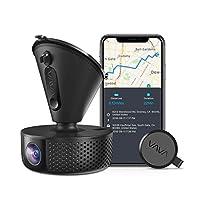 Dash Cam, VAVA 1920X1080P@60Fps Wi-Fi Car Dash Camera with Sony Night Vision Sensor, Dashboard Camera Recorder with GPS, Parking Mode, G-Sensor, Support 128GB Max