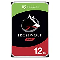 Seagate IronWolf NAS 內置硬盤ST12000VNZ008/N0008  IronWolf HDD 12TB