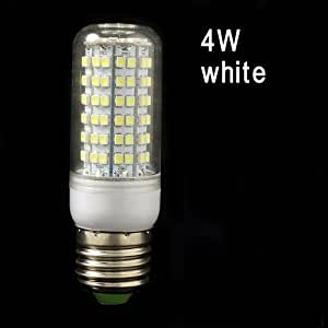 E27 3528 4 瓦 108 LED 灯节能玉米灯泡,白色