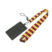 HARRY POTTER Gryffindor 学校徽章挂绳多卡夹插槽