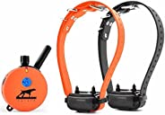Educator UL-1202TS Two Dog Upland Hunting 1 Mile E-Collar Remote Dog Training Collar With Vibration and Tappin