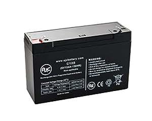 Lithonia ELB06122 6V 12Ah 应急灯电池 - 这是 AJC 品牌替换