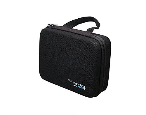 Yeetech Ekoda小型GoPro Hero 6/5/4/3スポーツカメラアクセサリー収納バッグハンドバッグ大中小カメラバッグ(小、黒)