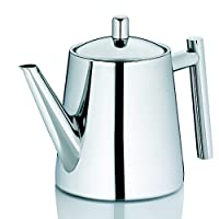 Kela Ancona 茶壶,不锈钢,亮银,0.9升