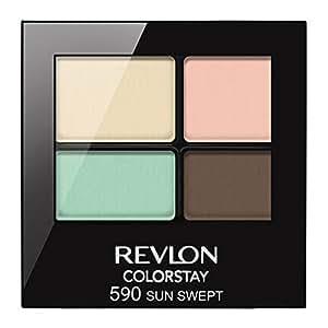Revlon Colorstay 16 Hour Eye Shadow Quad - Sun Swept - 0.16 oz