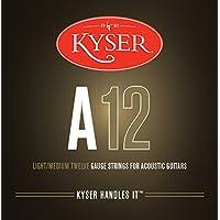 Kyser 原声 12 号 - 灯/中号 12 号 吉他琴弦
