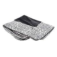 Furhaven 宠物狗床 | *性沙发风格传统客厅沙发宠物床 w/ 狗和猫咪可拆卸罩 - 多种颜色和款式可选 Kilim Boulder Gray Jumbo Plus