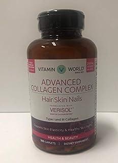 Hair Skin Nails Advanced Formula 180 粒