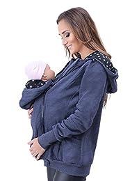 Mija - 孕妇保暖连帽衫/夹克/运动衫/婴儿背带 4046