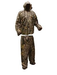 Coleman 男士服装迷彩 10 毫米 Pvc 防雨衣优势 Realtree Ap