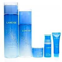 LΛNEIGE 兰芝 水衡 水乳护肤套盒 (滋润型) (水+乳液+赠品)(韩国品牌) 普通版和星空奇缘限量版随机发货