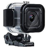 SOINSUN 60 米防水潜水外壳带支架配件适用于 GoPro Hero 5 Session Hero 4 Session 摄像机