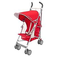 英国Maclaren 玛格罗兰 Globetrotter婴童车 红色(亚马逊进口直采,品牌方直供,正品保证,Maclaren 16款新品)